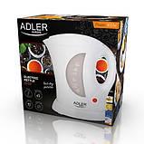 Электрочайник пластиковый Adler AD 03 1,0 литр, фото 7