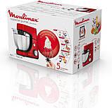 Кухонная машина Masterchef Gourmet Rouge 900w, блендер 1.5 литра, чаша 4 литра, фото 4