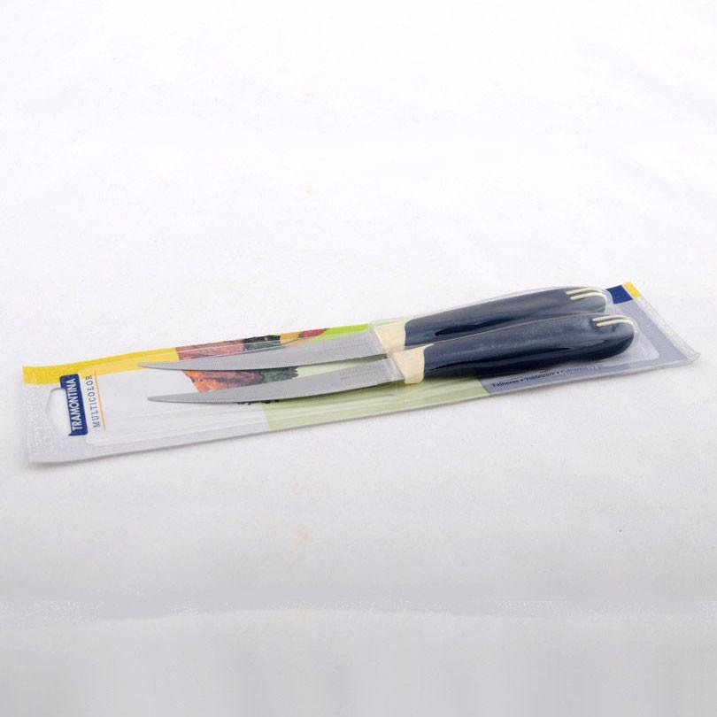 Набір з 2-х ножів томатних серії MULTICOLOR 23512/213