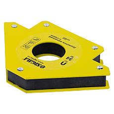 Магнит для сварки стрела 34кг 110×110мм (45, 90, 135°) SIGMA (4270331), фото 3