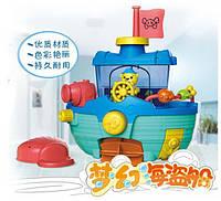 Игрушка для ванной Кораблик, игрушки для малышей, игрушки для купания, детские игрушки, голубой