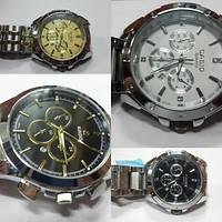 Мужские кварцевые часы на браслетах