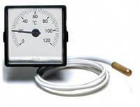 Термометр капиллярный с выносным датчиком (диаметр 45 х 45 мм)