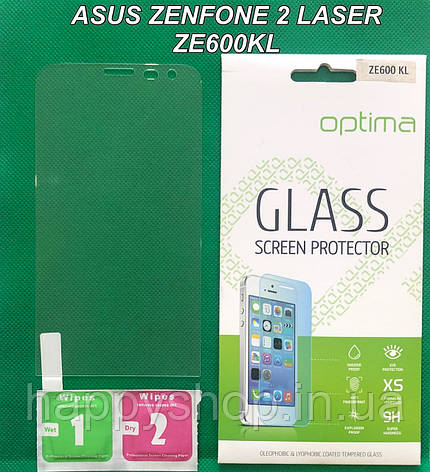 Защитное стекло Asus Zenfone 2 Laser ZE600KL, фото 2