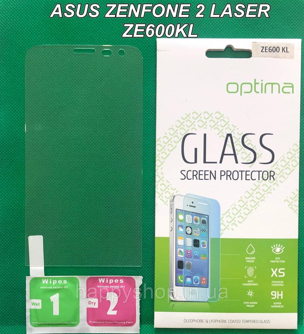 Защитное стекло Asus Zenfone 2 Laser ZE600KL