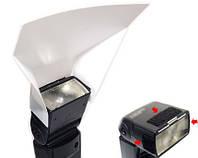 Рассеиватель для накамерных ламп JJC PD-4A