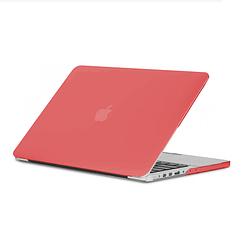 Чехол на макбук эйр 13 красный Накладка на MacBook Air 13 пластик