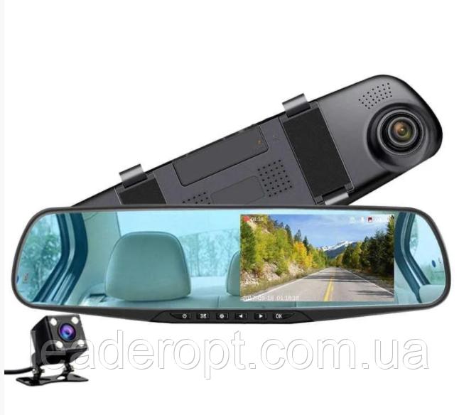 ОПТ Зеркало видеорегистратор с камерой заднего вида iCar premium L604