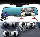 ОПТ Зеркало видеорегистратор с камерой заднего вида iCar premium L604, фото 3