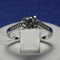 Серебряное кольцо для помолвки Классика 4586-р, фото 1