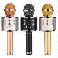 Караоке микрофон Bluetooth беспроводной ( FM+SD) EL-858