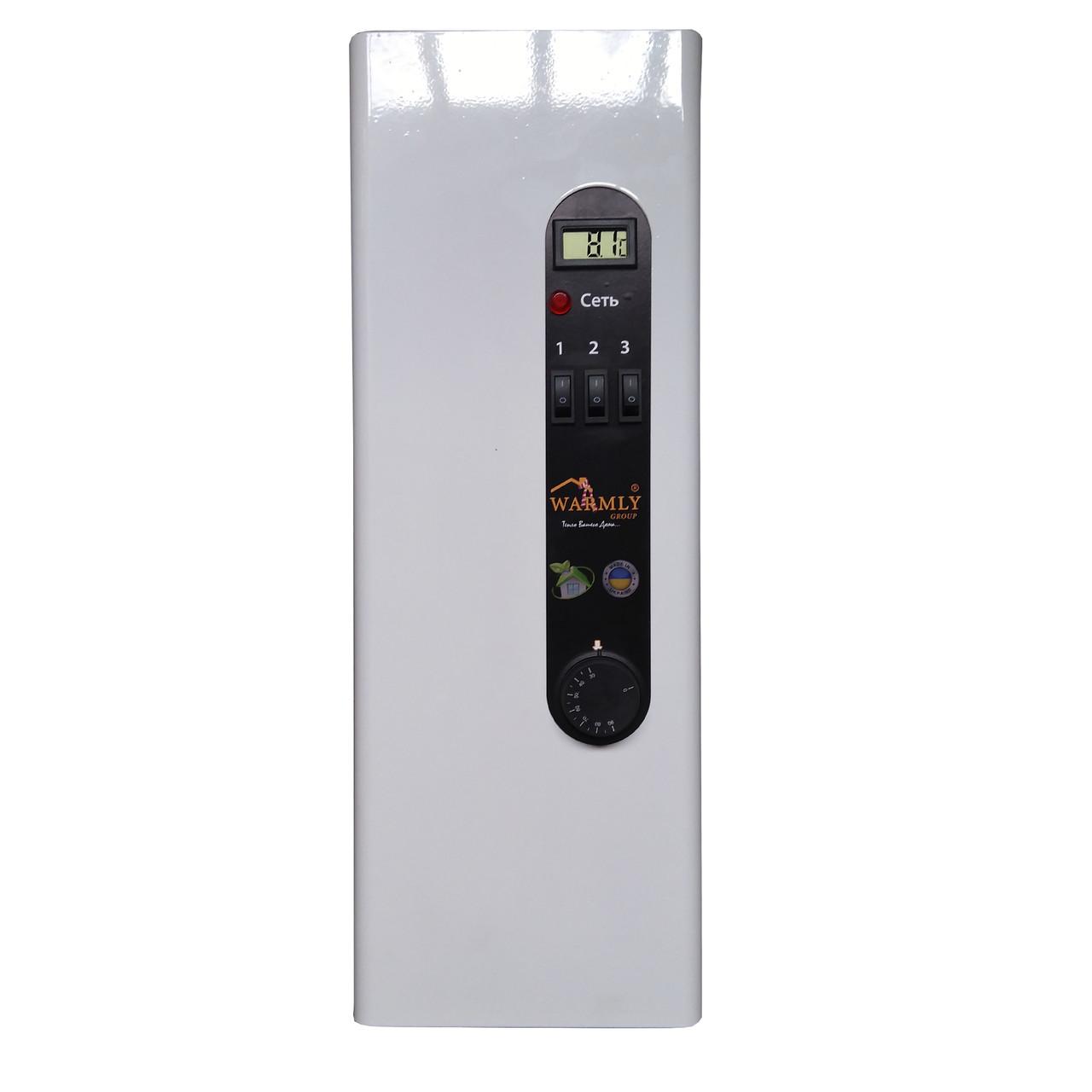 Электрический котел WARMLY WCS  4.5 кВт 220/380 В, модульный контактор