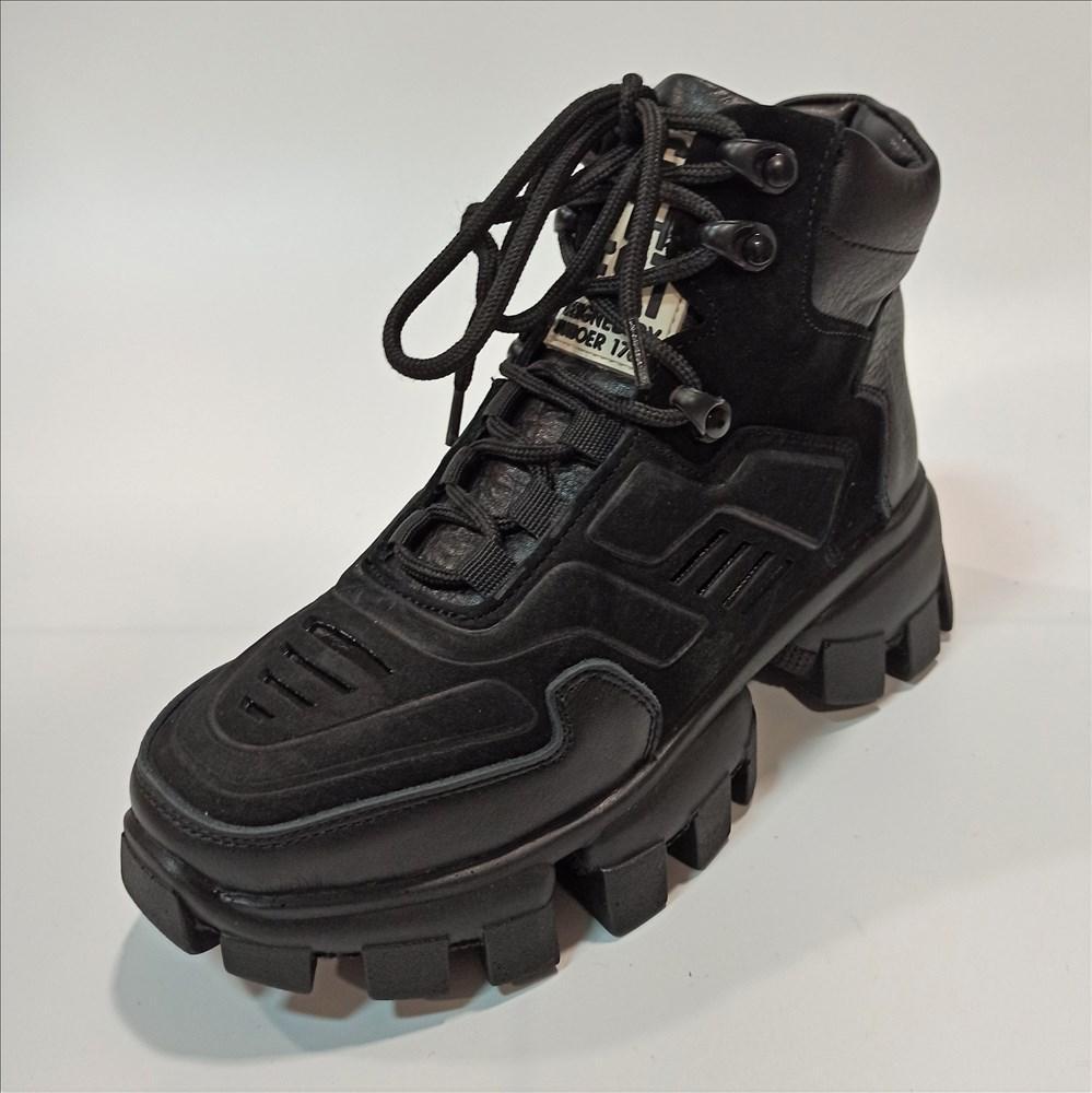 Женские ботинки под стиль Prada размеры: 35-40