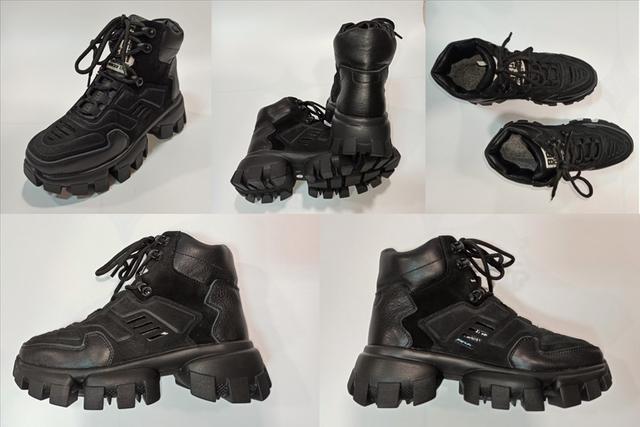 Женские ботинки под стиль Prada фото