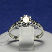Серебряное кольцо на помолвку Илона 4760-р, фото 1