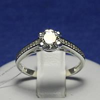 Кольцо из серебра для помолвки с цирконом Илона 4760-р