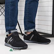 Кросівки чоловічі чорні 45р, фото 3