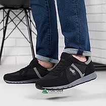 Кросівки чоловічі чорні 45р, фото 2