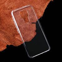 Ультратонкий 0,3 мм чехол для Motorola Moto E7 Plus прозрачный, фото 1
