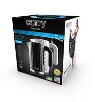 Электрочайник Camry CR 1269  1,7 литр, мощность 2200Вт black, фото 2