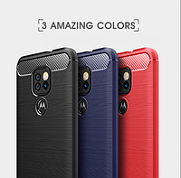TPU чехол накладка Urban для Motorola Moto E7 Plus (3 цвета)