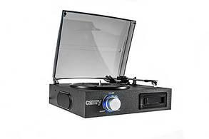 Проигрыватель виниловых дисков с кассетным проигрывателем Camry CR 1154, фото 2
