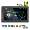 Автомагнитола, магнитола с экраном 2 DIN  8701 Android. Bluetooth-модуль, GPS-навигация, Wi-Fi