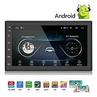Автомагнитола, магнитола с экраном 2 DIN  8701 Android. Bluetooth-модуль, GPS-навигация, Wi-Fi, фото 1