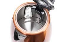 Электрочайник металлический 1.7l Camry CR 1271, фото 3