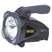 Фонарь-прожектор ручной аккумуляторный светодиодный ЛЕД GD-3501