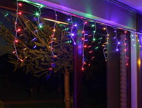 Гирлянда светодиодная LTL Sople занавес 100 led длина 3.2 метра разноцветная RGB, фото 2