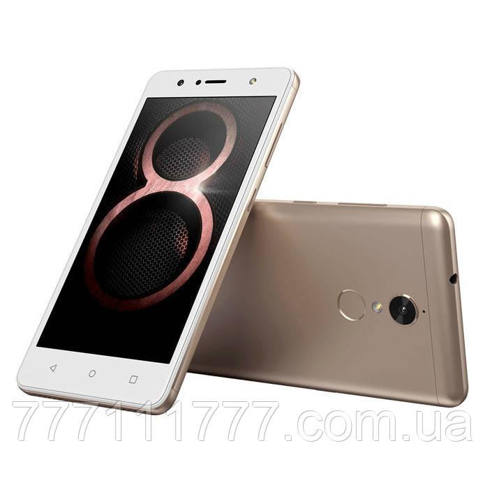Смартфон леново с большим дисплеем и двойной камерой на 2 сим карты Lenovo K8 Not XT1902 gold  4/64Gb