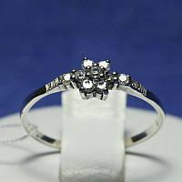Серебряное кольцо Цветок 1003, фото 1