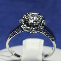 Винтажное серебряное кольцо Княгиня 1025, фото 1