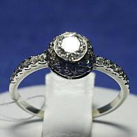 Кольцо для помолвки серебряное 1031, фото 1