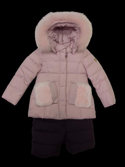Куртка + полукомбинезон для девочки JDL Junior 18033/1031 рост 98