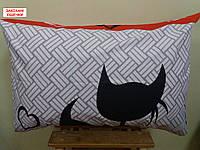 Наволочка бязь 50х70 - Закохані кішечки, фото 1