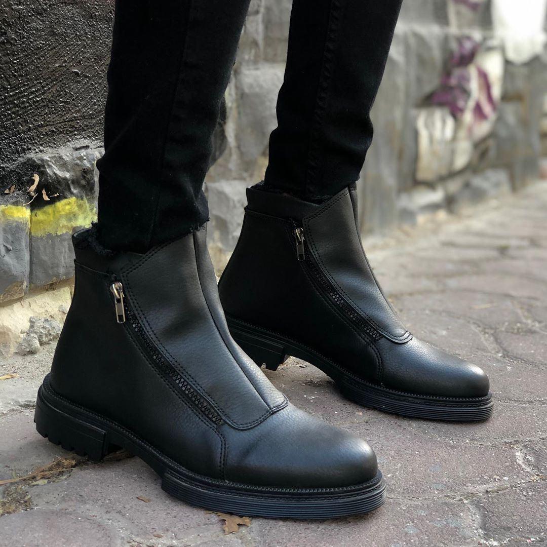 Ботинки - мужские ботинки на замке осень