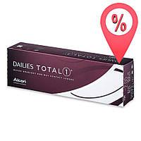 30+10шт. Контактные линзы Alcon Dailies Total 1 Акция