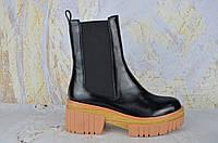 Стильные кожаные женские ботинки BROCOLY ТОП