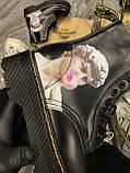 Женские ботинки Dr. Martens Jadon Art Black, ботинки мартинс, жіночі черевики Dr Martens 1460, ботінки мартінс, фото 4