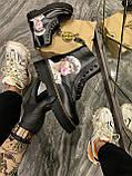 Женские ботинки Dr. Martens Jadon Art Black, ботинки мартинс, жіночі черевики Dr Martens 1460, ботінки мартінс, фото 3