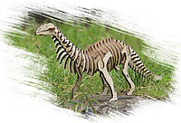 Игрушка из дерева Динозавр Бронтозавр конструктор для детей и взрослых