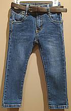 Детские джинсы для малыша 9-12 мес, 74-80 см