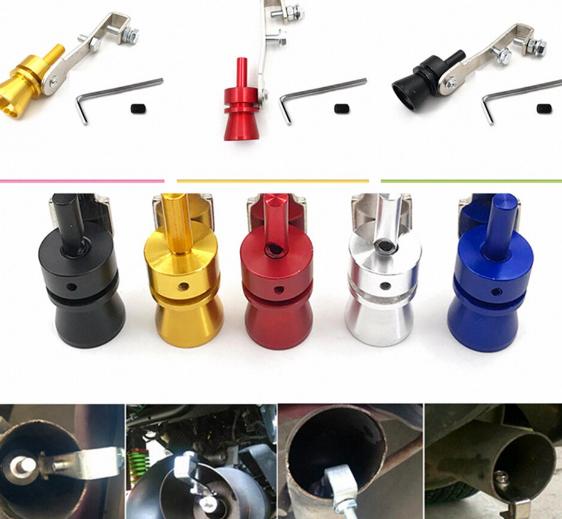 Свисток на глушитель TURBO SOUND for car, Автомобильный турбо-звуковой свисток на выхлопную трубу