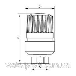 Термоголовка М30 х 1,5 KR.1330 KOER, фото 2