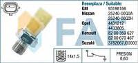 Датчик давления масла Renault Master/Trafic 1.9/2.0/2.5 FAE 12701