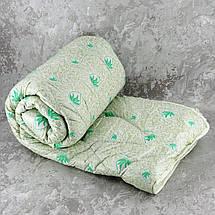 Одеяло закрытое холлофайбер с пропиткой ALOE VERA (Микрофибра) Полуторное T-55064, фото 3