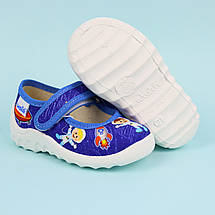 360-042-1 Тапочки текстильные туфли на мальчика Денис тм Waldi размер 22, фото 2