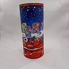 Подарочный новогодний Тубус 98*220 мм, 600 грамм, фото 2